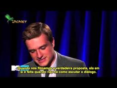 Josh Hutcherson on how his pants ripped while proposing to Katniss/Jennifer Lawrence on the Catching fire set