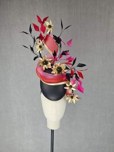 MBM2283 – Millinery By Mel All Design, News Design, Coding, Fascinators, Creative, Hats, How To Wear, Hat, Hipster Hat