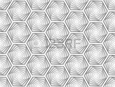 Design Seamless Monochrome Hexagon Geometric Pattern. Abstract.. Royalty Free Cliparts, Vectors, And Stock Illustration. Image 29749291.