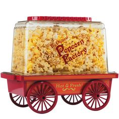 Vintage Wagon Popcorn Popper
