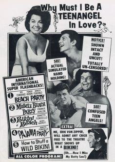American International 5-Feature Spectacular with Beach Party (1963), Muscle Beach Party (1964), Bikini Beach (1964), Pajama Party (1964) & How to Stuff a Wild Bikini (1965)