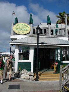 Turtle Kraals, Key West  *****4 x fish ceviche $25 nice to share for 2 as dinner ******