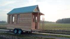 It truly is wonderful what these individuals did with this unique concept and plan. What a great idea for a Tiny House Exterior, House Exteriors, Diy Gazebo, Shed, Outdoor Structures, Concept, Engagement, Unique, Carpentry