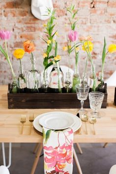 Save this DIY for a floral-inspired Easter centerpiece that is fit for a feast.