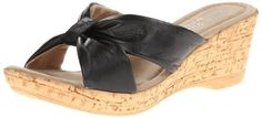 Bella Vita Made in Italy Women's Perfetto Wedge Sandal,Black Leather,8 M US Bella Vita http://www.amazon.com/dp/B00EL4AEDE/ref=cm_sw_r_pi_dp_ybILvb1TJ5425