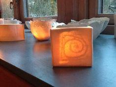 Tea light spiral