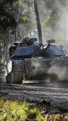 Abrams M1A1 AIM, tank, US Army: