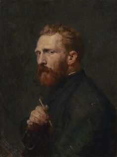 Portrait of Vincent Van Gogh by John Peter Russell, 1886. Collection: Van Gogh Museum.