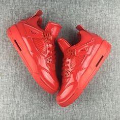 d16d7a05186f Men s Nike Air Jordan 4 11Lab4 719864-600 University Red Men Basketball  Shoes Houston Oilers