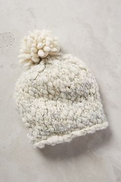 cute winter beanie #anthrofave #anthropologie