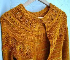 "jacket with raglan sleeve and pattern on yoke in ""Silke Alpaca"" by DROPS design. malabrigo Rios in Sunset colorway. Knitting Stitches, Knitting Patterns Free, Knitting Yarn, Knit Patterns, Free Knitting, Free Pattern, Knitting Sweaters, Knitting Ideas, Diy Crafts Crochet"