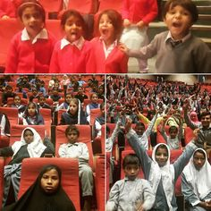 We believe on equal opportunities  Children from marginalized community and govt schools are attending free shows at 8th Lahore International Children's Film Festival 2016  #Licff16 #TLAORG #Lahore #Pakistan