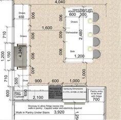 Kitchen layout design with island benches 17 ideas for 2019 - - Home Design Best Kitchen Layout, Kitchen Layout Plans, Kitchen Layouts With Island, Kitchen Island Bench, Kitchen Floor Plans, Kitchen Room Design, Kitchen Cabinet Design, Modern Kitchen Design, Kitchen Flooring
