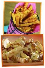 Comfort-Food Veggie Swaps! (Fries, Chips, Pizza  More) AAAHHHHH!!!!