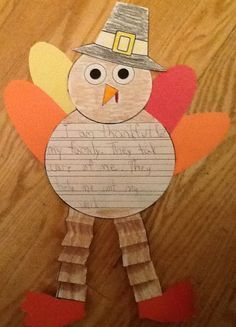thanksgiving writing first grade - Google Search