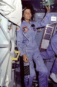 """The stars don't look bigger, but they do look brighter.""  - Sally Ride (1951-2012)"