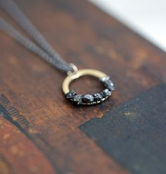 Seven to ten little diamonds in their natural state. $78.00