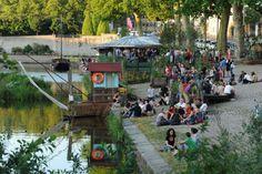 Le bateau-lavoir : #bar #restaurant #spectacle