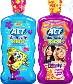 Act Mouthwash Coupon: $1.50 off 2! {  more mouthwash coupons}