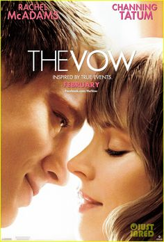 It's not gift that I've been waiting in this valentine. It's this movie! The Vow, bet I'll be a cry baby in this valentine day. Rachel McAdams from The Notebook  Channing Tatum from Dear John