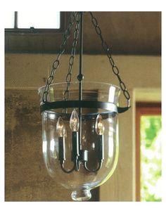 Pendant - Atos Glass Bell Pendant Light
