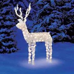 Mopar christmas light display engines memorabilia oddities look at walmart for this great animated reindeer light sculpture mozeypictures Choice Image