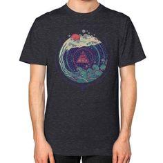 Water Unisex T-Shirt (on man)