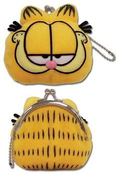 Garfield Head Plush Coin Purse ** Details can be found by clicking on the image.