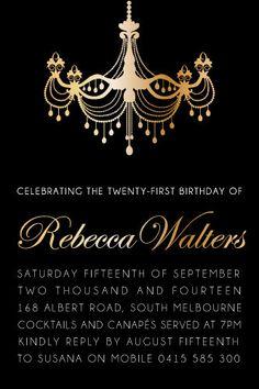 Birthday Party Digital Printable Invitation Template