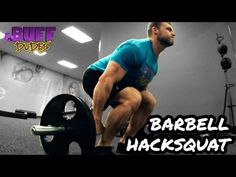 ▶ How to Perform Barbell Hack Squats - Big Quads Exercise - YouTube