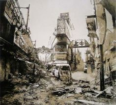The post-apocalytic prints of Hisaharu Motoda.