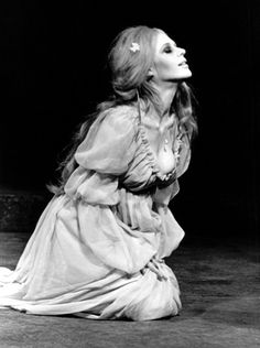 Marianne Faithfull on stage for the play Hamlet at the Royal House in London, 1969