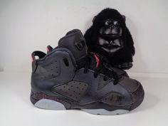 buy online b8033 0fab4 Kids Nike Air Jordan 6 Retro Basketball shoes size 1 Youth 543389-008  Nike
