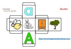 Abc Preschool, Story Cubes, Teaching Babies, Spanish Activities, Dado, Phonics, Have Fun, Classroom, Education