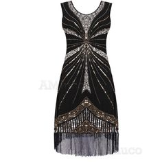 Cool Awesome 1920's Flapper Dress Great Gatsby Charleston Deco Sequin Fringed Party Dresses 2017 2018 Check more at http://fashion-look.top/gallery/awesome-1920s-flapper-dress-great-gatsby-charleston-deco-sequin-fringed-party-dresses-2017-2018/