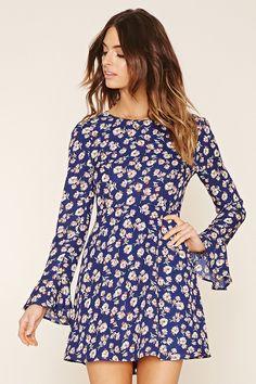 Vestido floral - Contemporary | Forever 21 - 2000221811