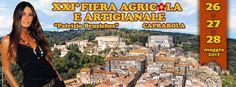 """XXIª Fiera Agricola e Artigianale """"Patrizio Bruziches"""" 26 • 27 • 28 maggio 2017 Programma completo della manifestazione..."""