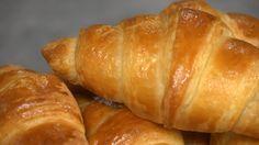 Croissanter med butterdeig