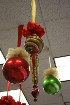 29 best Christmas Ceiling Decor images on Pinterest | Christmas ...