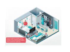 Dicas para espaços pequenos!  Fonte: http:/miniapartamento.com.br