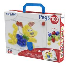 PRIMARY PEG STS 3/4IN PEGS 100 PCS