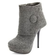 Cuffed Ankle Bootie Love these