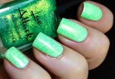 Sassy from the Fierce collection - swatch by Nail Polish Wars