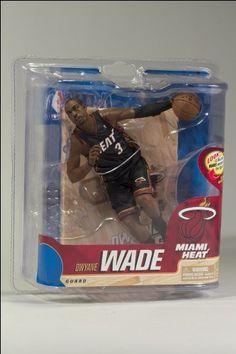 NBA Miami Heat McFarlane 2012 Series 20 Dwyane Wade (3) Action Figure by McFarlane. NBA Miami Heat McFarlane 2012 Series 20 Dwyane Wade (3) Action Figure.