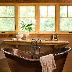 Small Rustic Bathrooms