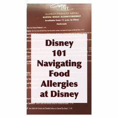 Disney 101 - Navigating Food Allergies at Disney World - Dining with a food allergy at Disney is amazing!  In this article we share the different levels of dining at Disney World and what to expect with each of them.  Click the photo to read our article and Pin to save for later reference.  |  EarToEarMagic.com