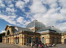 Alexandra Palace - in Alexandra Park in London. I'm missing my London neighborhood so much