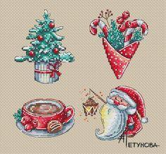 Схема для вышивания Петунова Анна #24259 Cross Stitch Thread, Xmas Cross Stitch, Cross Stitch Christmas Ornaments, Christmas Cross, Counted Cross Stitch Patterns, Cross Stitch Designs, Cross Stitching, Cross Stitch Embroidery, Needlepoint Patterns