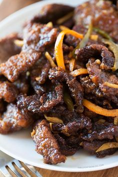 Take-Out, Fake-Out: Crispy Beef - Table for Two