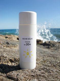 Cosmética Natural Casera: Receta de Leche de Proteccion Solar Casera SPF 20+